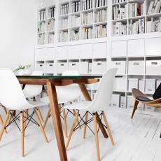 Chaises contemporaines Laissez-vous séduire par le charme des chaises scandinaves pour un intérieur élégant
