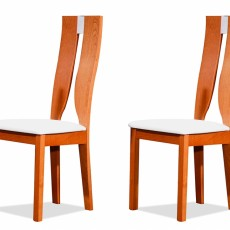 Chaises contemporaines En merisier