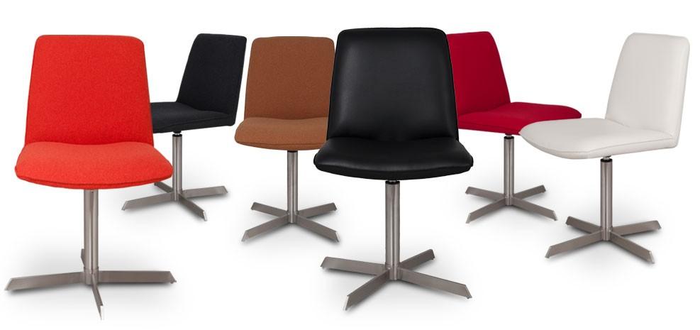 Chaise contemporaine en cuir for Chaise longue petit prix