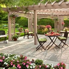 Chaises contemporaines Pour le jardin