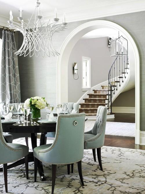 La chaise contemporaine pour la salle à manger